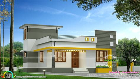 3 Bedroom Single Floor Modern Architecture Home Kerala