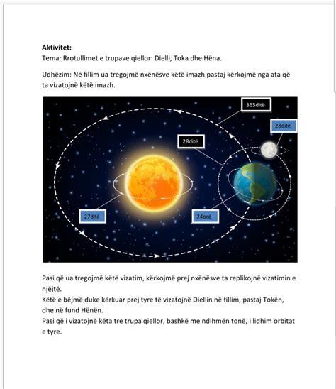 Trupat qiellor: Dielli, Toka dhe Hëna   Arsimi ...