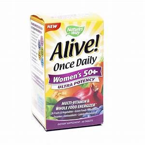 Women U0026 39 S 50  Alive  Daily Ultra Potency Multivitamin