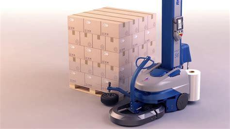portable stretch wrapping machine robot  saudi arabia youtube