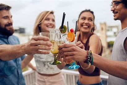 Drinking Friends Cocktails Magazine Happy Hour Safe
