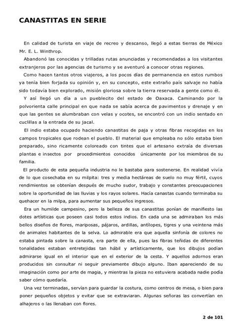 Serie Resumen by B Traven Canasta De Cuentos Mexicanos
