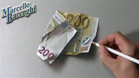 draw   euro banknote youtube