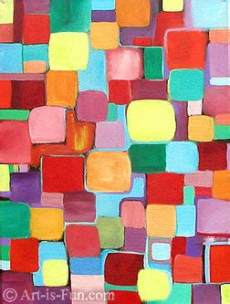 Abstract Painting Using Shapes by Modern Abstract A Detailed Look Into Several Types Of