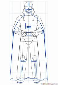How To Draw Darth Vader Step By Step Drawing Tutorials