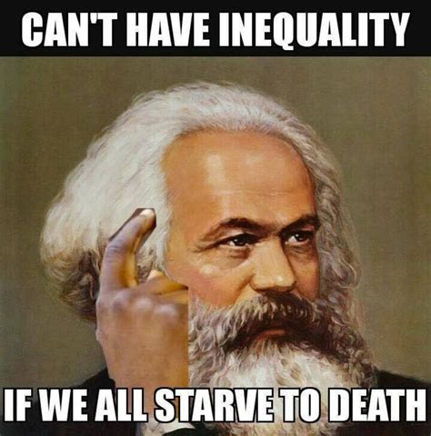 Karl Marx Memes - karl marx explains what dems are up to on equality meme
