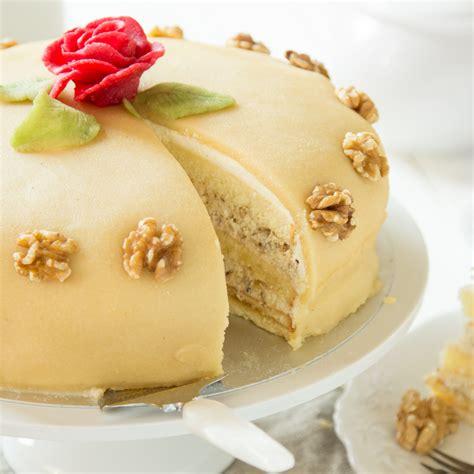 Torte Marzipan Deko - Geburtstagstorte