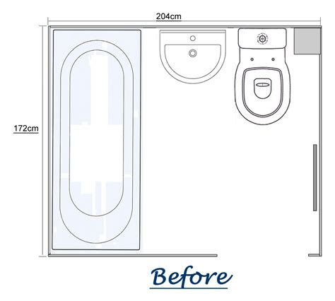 Bathroom Floor Plans by Convert Bathroom To Shower Room Use All Of The Floor Space