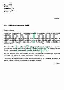Plombier La Celle Saint Cloud : lettre de motivation plombier chauffagiste confirme ~ Carolinahurricanesstore.com Idées de Décoration