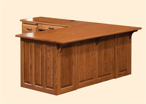 jakes amish furniture eld traditional executive  desk