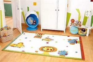 Tapis Chambre Bébé : ue tapis pour chambre enfant le blog allotapis ~ Teatrodelosmanantiales.com Idées de Décoration