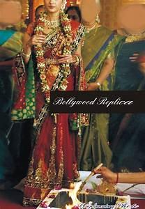 Buy Bollywood Aishwarya Rai Red Net Wedding saree Online