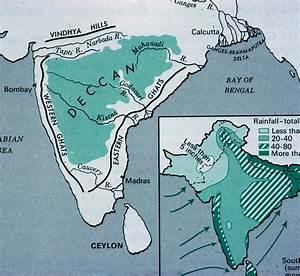 India - Location And Environmental Regions
