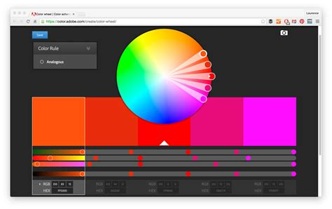 color wheel photoshop 21 color palette tools for web designers and developers