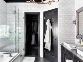 Black And White Bathroom Designs Timeless Black And White Master Bathroom Makeover Bathroom Ideas Designs Hgtv