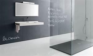 Bodengleiche Dusche Mit Faltbarer Duschabtrennung : begehbare dusche mineralgu 140 x 90 ~ Orissabook.com Haus und Dekorationen