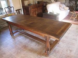 Table Chene Massif Rustique : table chene massif rustique offres septembre clasf ~ Teatrodelosmanantiales.com Idées de Décoration