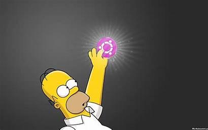 Simpson Simpsons Homer Wallpapers Linux Desktop Ubuntu
