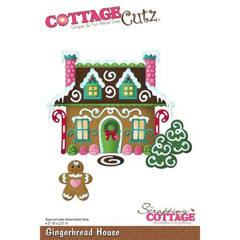 cottage cutz die gingerbread house