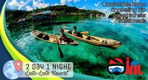 JNL scuba&Travel.com: 2D1N LATO-LATO RESORT SEMPORNA ( All ...