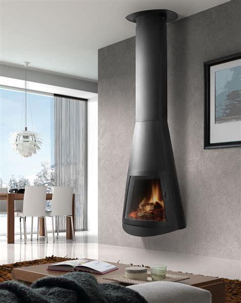 hanging wood burning fireplace lennox ladera wood