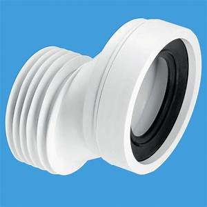 McAlpine Short 40mm Offset Toilet Pan Connector Plumbers