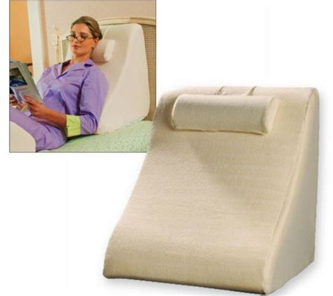 Jobri Spine Reliever Bed Wedge by Eight Innovative Bed Pillows For A Relaxing Posture Hometone