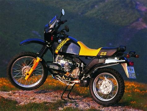 Bmw R100gs by Bmw R 100 Gs Bikerszene