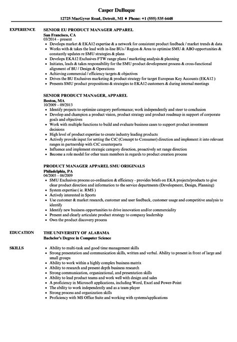 sle cover letter for product manager ideas junior