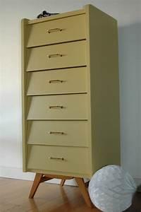 Pied De Meuble Vintage : semainier vintage coloris mon petit meuble diy ~ Dallasstarsshop.com Idées de Décoration