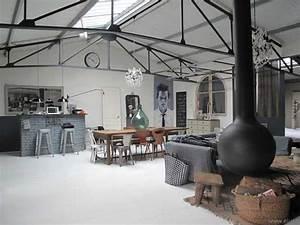 Renovation Hangar En Habitation : magnifique loft style maison de famille ~ Nature-et-papiers.com Idées de Décoration