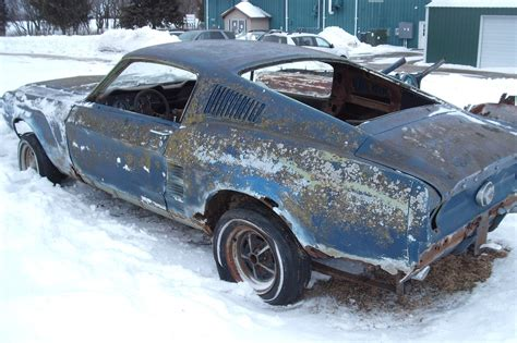 1967 Ford Mustang Fastback Project Car For Sale