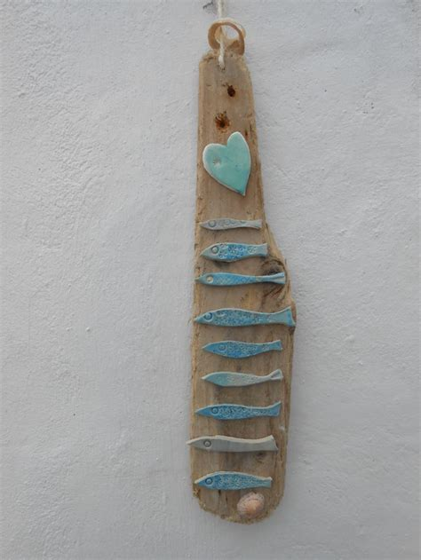 From Skellig Pottery Driftwood Found On A Local Beach With