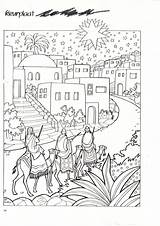 Coloring Pages Nativity Wise Three Printable Adults Male Jesus Books Christmas Colouring Adult Story Easter Colors sketch template