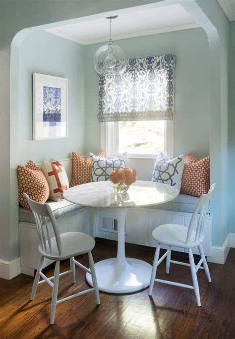banquette dining set dining room transitional
