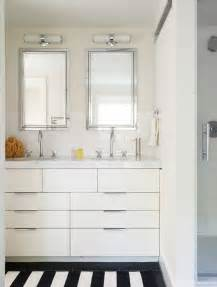contemporary small double bowl sink bathroom vanities