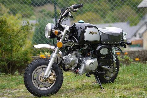 honda monkey nachbau skyteam st 50 8a 50ccm gorilla nachbau skyteam motorrad 50cc 125ccm