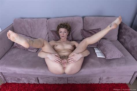 Philippa Strips Nude After Reading Her Book