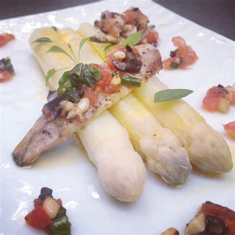 sardine cuisine sardines sous le grill sauce vierge asperges blanches et