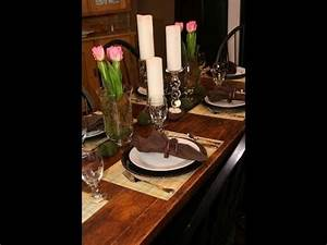 DIY Spring Table Setting Decorating Ideas