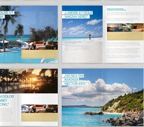 vacation brochure templates psd vector eps format