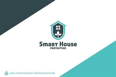 smart house logo template logos logo templates home