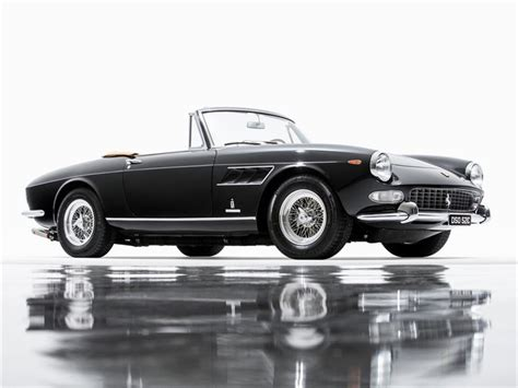 The 275 gts presented here, chassis 07449, was completed at the ferrari factory in july 1965, finished in the elegant color combination of grigio argento (silver gray) with black leather upholstery and red carpets. 1965 Ferrari 275 GTS for Sale | ClassicCars.com | CC-1072161