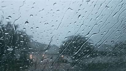 Rain Window Glass Gloomy Gifs Sound Relaxing