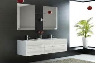 meuble salle de bain design 2 vasques id 233 es d 233 co salle de bain