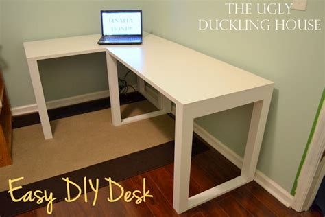 how to build an l shaped desk from scratch 15 diy computer desks tutorials for your home office 2017