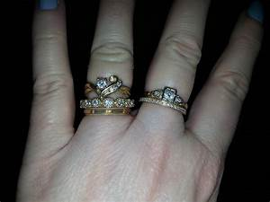 how do you wear your stacked rings weddingbee With stacked wedding rings weddingbee