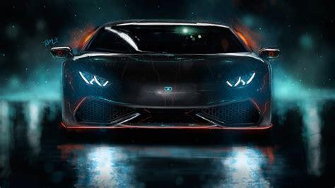 Lamborghini Huracan Custom Cgi 4k Wallpaper