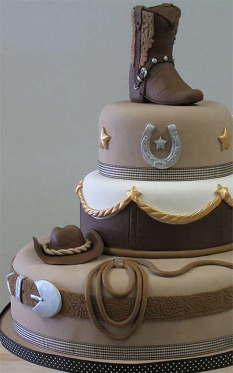 images  cowboy cakes  pinterest cake