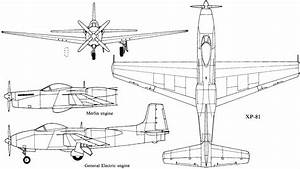 Consolidated Vultee Xp81 Plans